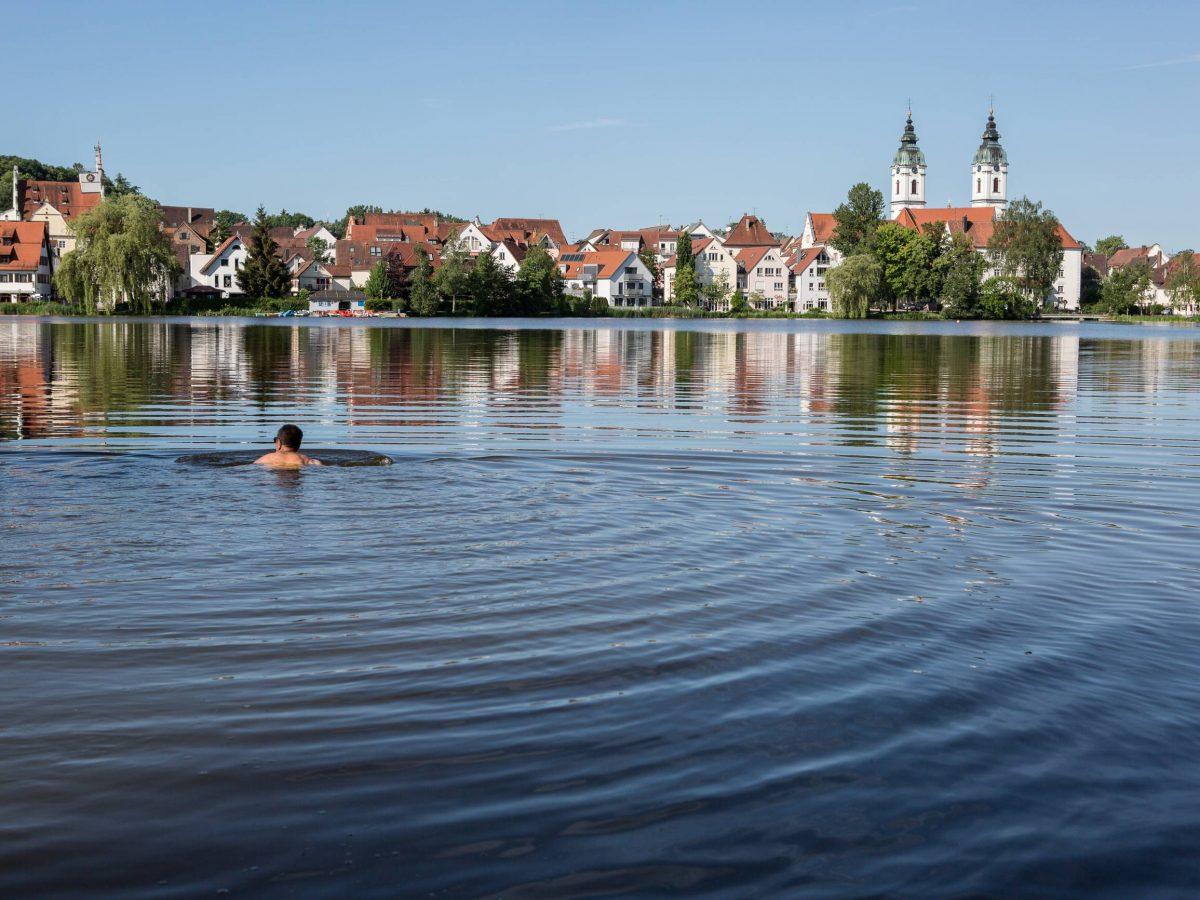 Schöner See in Bad Waldsee