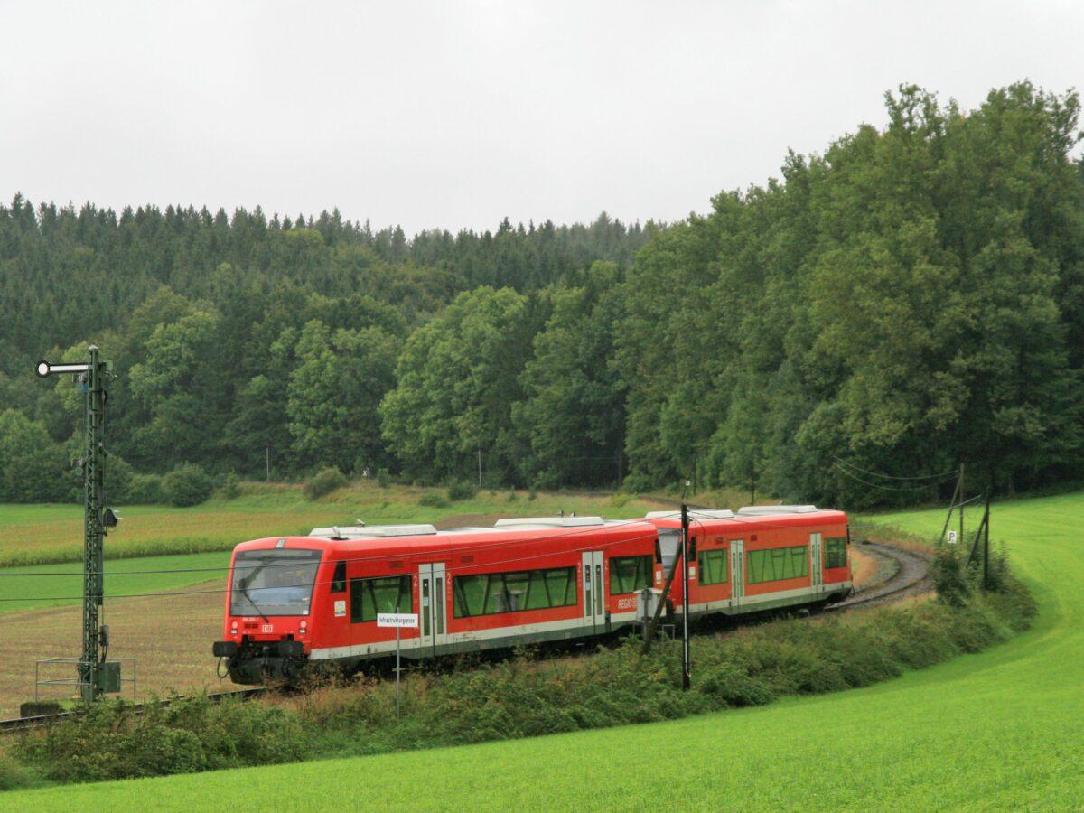 Die Moorbahn im Bereich Roßberg