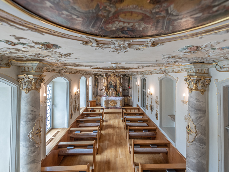 Rokokohauskapelle Maria Rosengarten